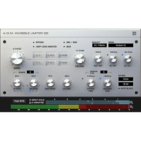 A.O.M.Plugin/Invisible Limiter G2【オンライン納品】