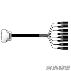 Mogami/2932 8ch Dsub25-XLRM 3m【在庫あり】