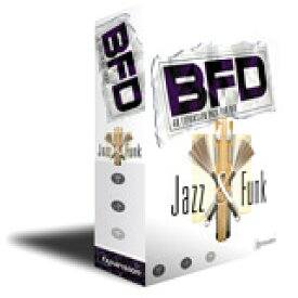 Fxpansion/Jazz & Funk 【オンライン納品】【BFD拡張】【在庫あり】