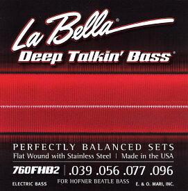 "LaBella/760FHB2 for Hofner ""Beatle Bass"" ラベラ 【ヘフナー】【ベース弦】"