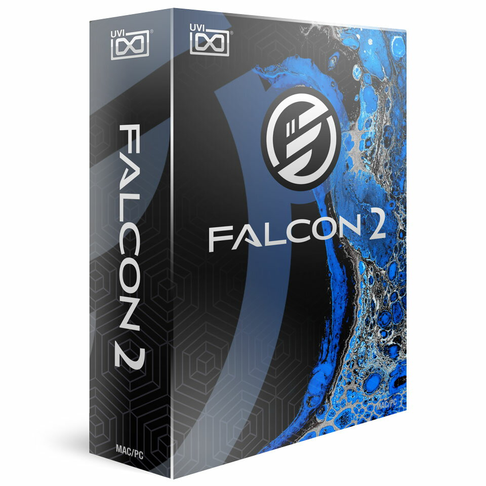 UVI/FALCON【数量限定特価キャンペーン】【オンライン納品】【定番】【在庫あり】