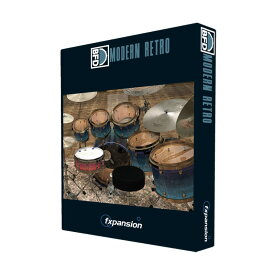 FXPansion/BFD3/2Expansion Pack: Modern Retro【オンライン納品】【BFD拡張】【在庫あり】