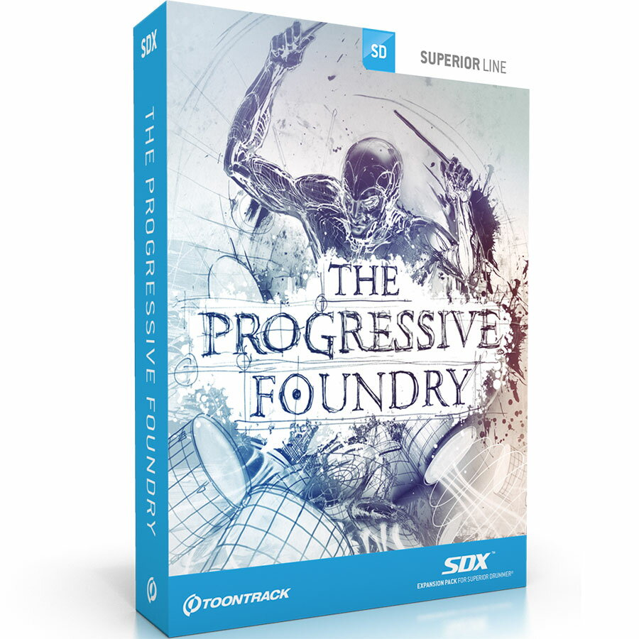 TOONTRACK/SDX PROGRESSIVE FOUNDRY【期間限定キャンペーン】【在庫あり】
