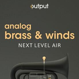 OUTPUT/ANALOG BRASS & WINDS【オンライン納品】【在庫あり】