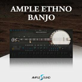 AMPLE SOUND/AMPLE ETHNO BANJO【〜8/15 期間限定特価キャンペーン】【オンライン納品】【在庫あり】