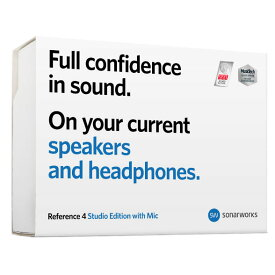 Sonarworks/Reference 4 Studio edition with mic - boxed【数量限定特価キャンペーン】【在庫あり】