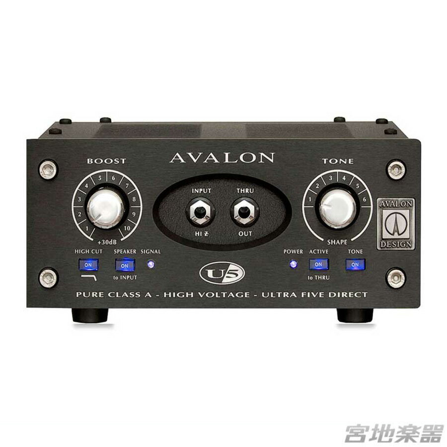 AVALON DESIGN/U5 Black【在庫あり】【定番】