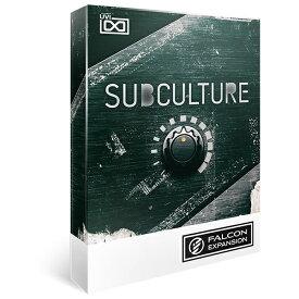 UVI/SubCulture for Falcon【FALCON専用拡張パック】【〜12/3 期間限定特価キャンペーン】【オンライン納品】