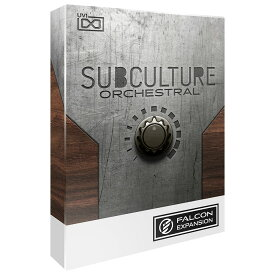 UVI/SubCulture Orchestral for Falcon 2【オンライン納品】