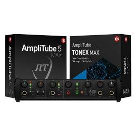 IK Multimedia/AXE I/O + AmpliTube 5 MAX Bundle【2021年2月発売予定】【ご予約受付中】