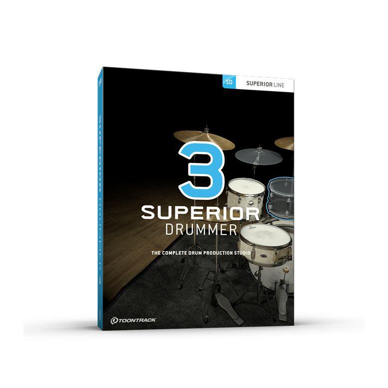 TOONTRACK/SUPERIOR DRUMMER 3【在庫あり】