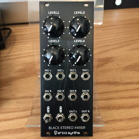 Erica Synths/Black Stereo Mixer V3【在庫あり】