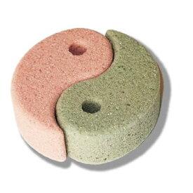【送料無料】「銅抗菌軽石(勾玉型) トロピカル 2色セット」清潔 肌にやさしい 防カビ・抗カビ かかと 肘裏 足裏 角質ケア 角質除去 角質とり 素足美人 きめが細かく肌を傷つけない 当社オリジナル商品