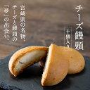 チーズ饅頭10個入り 宮崎名物 しっとりやわらかい ナチュラルチーズ 昭栄堂 ティータイム お土産 贈答 手土産 ギフト …