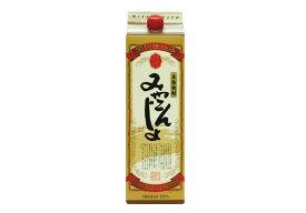 芋焼酎 「みやこんじょ 黒」25° 1800ml/パック 本格焼酎都城酒造