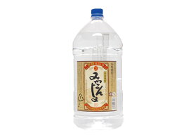 芋焼酎 「みやこんじょ 黒」25° 5000ml/大容量PET 本格焼酎都城酒造