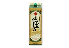 「みやこんじょ 黒」20° 1800ml/パック 本格焼酎都城酒造