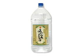 芋焼酎「みやこんじょ 黒」20° 5000ml/大容量PET 本格焼酎都城酒造