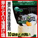 芽かぶ入り浅漬け塩 瀬戸内海産焼塩 10袋まとめ買い!【05P09Jan16】