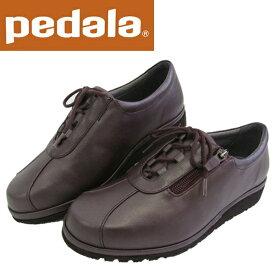 ペダラ ウォーキングシューズ 4E アシックス pedala レディース WPM466 M25 Mワイン 送料無料