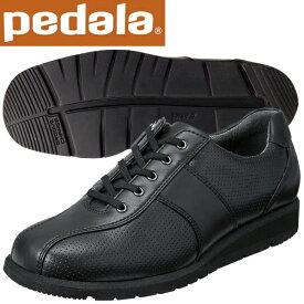 ペダラ ウォーキングシューズ アシックス pedala レディース 1212A045 001 ブラック 送料無料