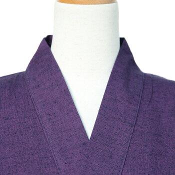 作務衣(さむえ)紬織り【日本製】女性用通年用【フリーサイズ】宮田織物製・綿100%・和木綿【プレゼント/ギフト】【RCP】