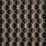 【送料込】久留米絣(かすり)反物【日本製】切り売り(1メートル単位)絵絣ドット柄ブラウン綿100%SG0184