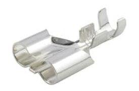 【B-16】 キボシ形Wソケット 1袋100個入 ネコポス発送、送料全国一律350円、同梱可能です