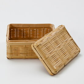 天然竹製 白竹 みやび 弁当箱 大