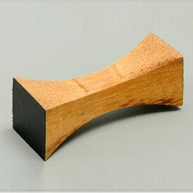 【店内全品ポイント5倍 4/20限定】 天然竹製 箸置き つつみ 黒 おしゃれ はしおき
