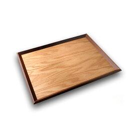 天然木製 30cm長角ウッドトレー ナチュラル