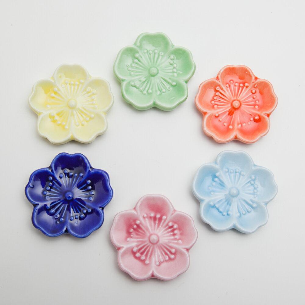 箸置き 桜 陶器製