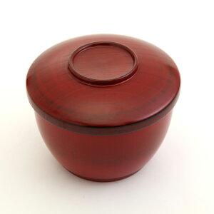 天然木製 吸物椀 吸物椀 おわん 和食器 筋入 根来 漆塗り
