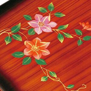 紀州塗り尺1寸加伏文庫杢目蒔絵鉄仙