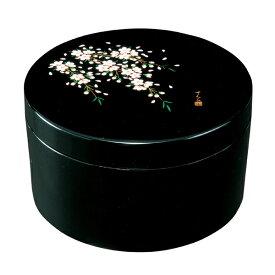 紀州塗り 黒 ボンボニエール さくら桜