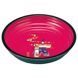 【10%OFF 156円引き】紀州塗り 8寸 菓子鉢 桃のかおり