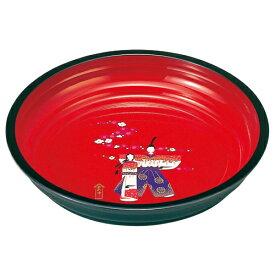 紀州塗り 8寸 菓子鉢 香り雛 【ひな祭り お雛様 24cm 和 丸 菓子鉢 かわいい 初節句 日本製】