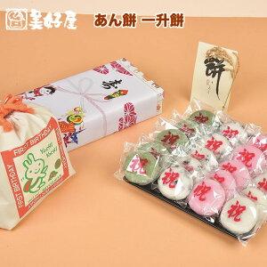 4種のあん餅 一升餅 セット 一生餅 小分け あんこ 個包装1歳の誕生日のお祝い お 誕生餅 20個入り 一升餅小分け リュック 付き