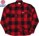 FRANKLIN&MARSHALL/フランクリンアンドマーシャル FLANNEL SHIRTフランネルチェックシャツ/チェックネルシャツ BUFFALO RED CHECK(バ…