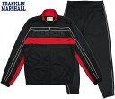 FRANKLIN&MARSHALL/フランクリンアンドマーシャル FULL ZIP TRIACETATE SWEATSHIRT+TROUSERS トラックジャケット+パンツセット/ジャ…