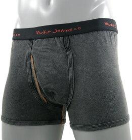 nudie Jeans co (ヌーディージーンズ) Bobby Mid Brief ORGANIC COTTON 100% (オーガニックコットン・ミッドブリーフ) Black(アンティーク・ブラック)