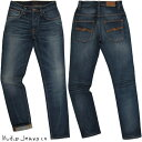 Nudie Jeans co/ヌーディージーンズTHIN FINN/シンフィン TIGHT FIT, NORMAL WAIST, LOW YOKE, NARROW LEG, OPENING ZIP FLY CLASSIC O…