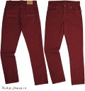 Nudie Jeans co /ヌーディージーンズ GRIM TIM (グリムティム) straight slim fit with normal rise ORG. RED CORD(オーガニック レッ…