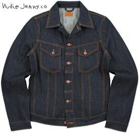 Nudie Jeans co/ヌーディージーンズ BILLY(ビリー) DRY RING DENIM(ドライリング・デニム)未洗い加工 デニムジャケット/ジージャン/Gジャン・デニジャケ