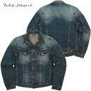 Nudie Jeans co/ヌーディージーンズ BILLY(ビリー) BLUE FRIEND DENIM(ブルーフレンドデニム) デニムジャケット/ジージャン/Gジャン