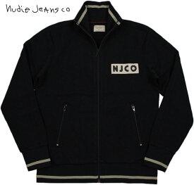 "Nudie Jeans co/ヌーディージーンズ""BORIS"" NJCO TRACK SUIT トラックジャケット/ジャージ/トラジャケ BLACK(ブラック)"