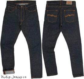 Nudie Jeans co/ヌーディージーンズ LEAN DEAN/リーンディーン CRINKLE BLUES(クリンクルブルース) 12oz. comfort stretch denimストレッチ・スキニーデニムパンツ