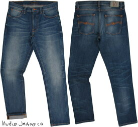 Nudie Jeans co/ヌーディージーンズ LEAN DEAN/リーンディーン LOST LEGEND(ロストレジェンド) 13oz. comfort stretch denimストレッチ・スキニーデニムパンツ