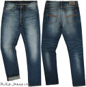 Nudie Jeans co/ヌーディージーンズ LEAN DEAN/リーンディーン SLOW WORN(スロウウォーン) comfort stretch denimストレッチ・スキニー…