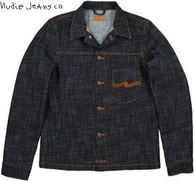 Nudie Jeans co/ヌーディージーンズ RONNY(ロニー) DRY CROSS DENIM(ドライ クロスデニム)未洗い加工デニムジャケット/ジージャン/Gジャン・デニジャケ